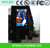 Video tabellone per le affissioni esterno pieno di pubblicità di schermo di colore P10 LED