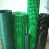 Acoplamiento de alambre soldado cubierto PVC de cuatro colores