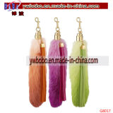 Yiwu China Articles promotionnels Agent d'achat Keychain à fourrure artificielle (G8012)