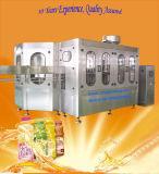 Machine de remplissage automatique de jus de fruits dans la bouteille d'animal familier