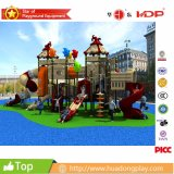Campo de jogos ao ar livre comercial superior da casa mágica de 2016 HD16-066A