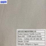 Twill-Webart-Baumwollgewebe-Kleidung der Baumwolle20*20 108*58 200GSM gefärbte für Arbeitskleidung