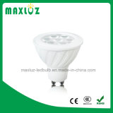 MAZORCA de la luz 8W del punto de GU10 MR16 LED con la lente