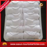 Limpeza de toalhas descartáveis da Airline com Bandeja e Tong