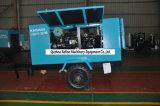 Kaishan Lgcy-12/10q鉱山のためのディーゼルTowableねじ圧縮機