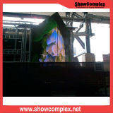 pH2 a todo color de interior que hace publicidad de la pantalla de visualización de LED