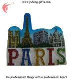 Vente en gros de touristes d'aimant de réfrigérateur de souvenir de résine de prix usine (YH-FM097)