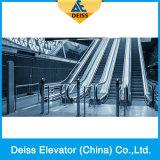 Pasajero en paralelo automático Transportadores Pública de la escalera móvil con acero inoxidable Paso