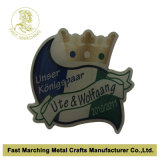 Distintivo stampato all'ingrosso dell'acciaio inossidabile, Pin superiore su ordinazione del risvolto