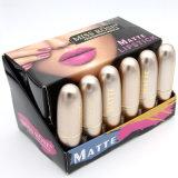 Maquiagem de moda barata Kit de lábios de longa duração de alta qualidade Kit de maquiagem de batom de veludo vermelho impermeável