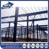 Edificio de marco de acero largo galvanizado del palmo del almacén prefabricado de la estructura de acero