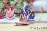 Accessoires d'animal familier de beauté d'épingle à cheveux de crabot de tête de perle de modèle