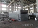 Os produtos agrícolas cercam equipamento de secagem