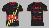 OEM Quicky de Droge Overhemden van de Sport van Spandex van de Polyester van het Overhemd van de Gymnastiek voor Mensen