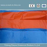 Encerado listrado impermeável do PVC para o toldo