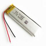 сила батареи 501860 Li-Po полимера лития 3.7V 500mAh перезаряжаемые для камеры сотового телефона пусковой площадки MP3 MP4 MP5 GPS PSP передвижной СРЕДНЕЙ