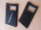 Abrelatas de botella plástico de la insignia de encargo de la impresión
