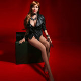 165cm feste Silikon-Geschlechts-Puppe, reale Geschlechts-Puppe Silikon