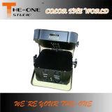 a PARIDADE lisa de Powred do rádio e da bateria do diodo emissor de luz de 12*17W RGBWA+UV 6in1 pode