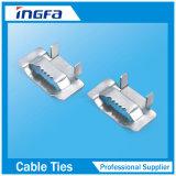 Aço inoxidável resistente que prende com correias a faixa com curvaturas
