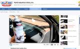 Брызг воска или силикона заполированности приборной панели автомобиля