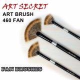 Щетка искусствоа художника ручки Nylon волос формы вентилятора деревянная