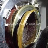分割フレーム、油圧モータ(SFM3642H)で切断し、面取り機