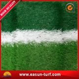 Erba sintetica esterna del monofilamento UV di resistenza per i campi di calcio