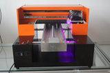Mejor impresora plana Precio Digital Printing Máquinas A3 Tamaño de impresión UV para iPhone del teléfono móvil de la cubierta