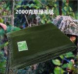 Niedrigerer Preis-hochwertige erhitzte weiche Militärwolle-Entlastungs-Zudecke