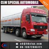 좋은 가격 HOWO 8X4 36000L 연료 탱크 트럭 디젤 엔진 분배기 유조 트럭