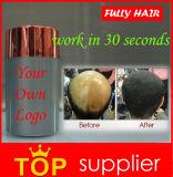 Dos homens do champô fibras calvas do edifício do cabelo da queratina inteiramente para o Regrowth do cabelo