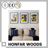 벽 예술 나무로 되는 삽화 프레임 나무로 되는 그림 사진 프레임