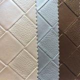 Cuoio sintetico del PVC per la decorazione della parete dell'hotel
