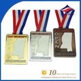 Kundenspezifische Metallmarathon-Medailleinternational-Läufer-Medaillen-Sport-Preis-Medaille