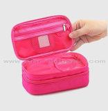 昇進の2層の構成袋旅行オルガナイザーの袋の便利な方法化粧品袋