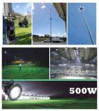 5 лет высокого качества IP65 гарантированности >Ra80 делают крытый напольный свет водостотьким залива 500 ватт СИД высокий