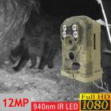 câmera selvagem da fuga do ângulo da visão noturna de 12MP 1080P