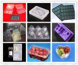 고속 자동적인 플라스틱 계란 또는 음식 또는 Fcookie 또는 과일 또는 포장 조가비 물집 쟁반 진공 열 형성 기계