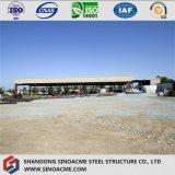 Structure ouverte de cloche de toit de produit plat avec les ponts roulants
