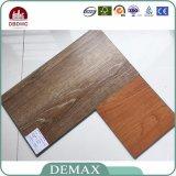 Plancher en bois de vinyle de la meilleure qualité, planches de vinyle de PVC