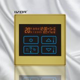 Marco plástico de la calefacción por el suelo del termóstato del interruptor programable del tacto (SK-HV2300-M)