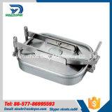 coperchio di botola rettangolare esterno dell'acciaio inossidabile di 470mm*760mm con pressione