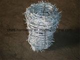 中国の工場有刺鉄線のコイルの有刺鉄線の安全塀の鉄条網