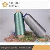 Multicolor de nylon Hilados metálicos para vestido de novia