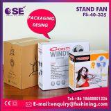 Models neufs ventilateur en plastique de stand de noir de 16 pouces (FS-40-335)