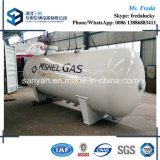 10t el tanque de almacenaje estándar horizontal de la ISO ASME LPG
