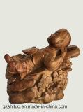 会社はまたは庭の景色の彫刻カスタマイズすることができる彫刻のさまざまな材料の処理を専門にする、