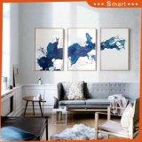 Самомоднейшая картина маслом группы панелей украшения 3 печати холстины искусствоа стены дома