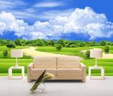 Het groene UV Afgedrukte Olieverfschilderij van het Landschap voor de Decoratie van het Huis
